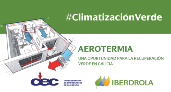 Jornada «AEROTERMIA Una oportunidad para la recuperación verde en Galicia»