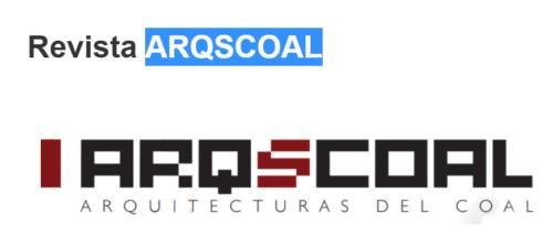 Nuevo ejemplar de la revista ArqScoaL que publica el COAL
