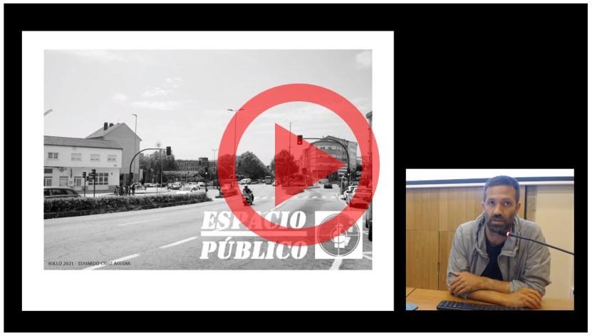 Disponible la grabación de la conferencia «Espacio público» de Eduardo Cruz