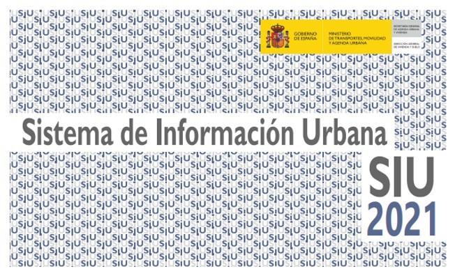 """Disponible la publicación """"Sistema de Información Urbana (SIU) 2021"""" del Ministerio de Transportes, Movilidad y Agenda Urbana"""