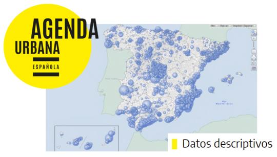 Datos Descriptivos de la Agenda Urbana Española