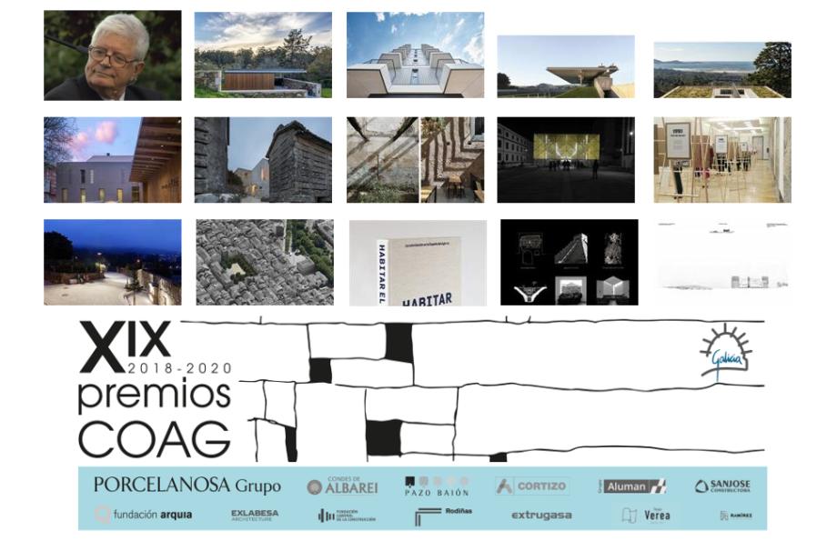 Resultado da XIX edición dos Premios COAG de Arquitectura