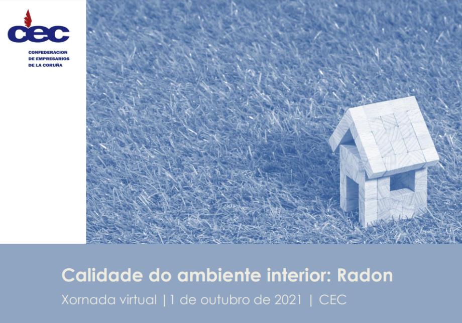 Xornada virtual «Calidade do ambiente interior: Radón»