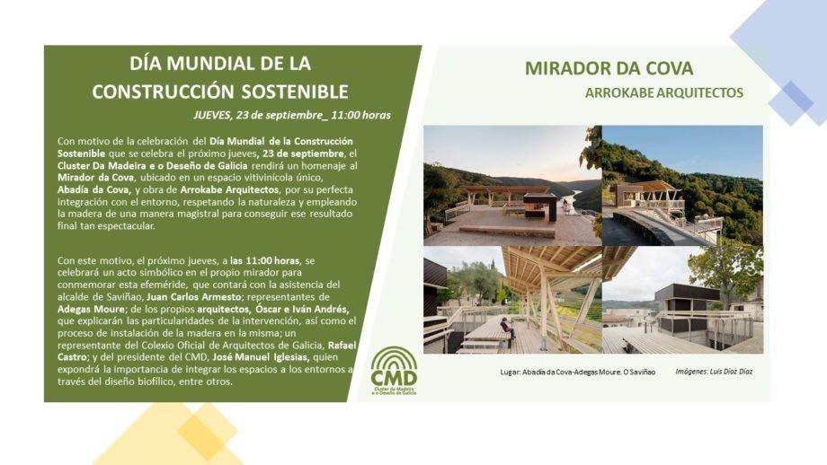 Día Mundial de la Construcción Sostenible_Mirador da Cova