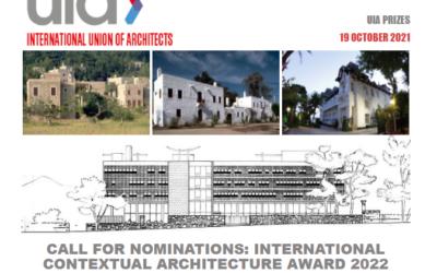 Premio internacional de Arquitectura Contextual 2022 en memoria de Turgut Canserver